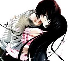 ciuman nafsu sang pecinta